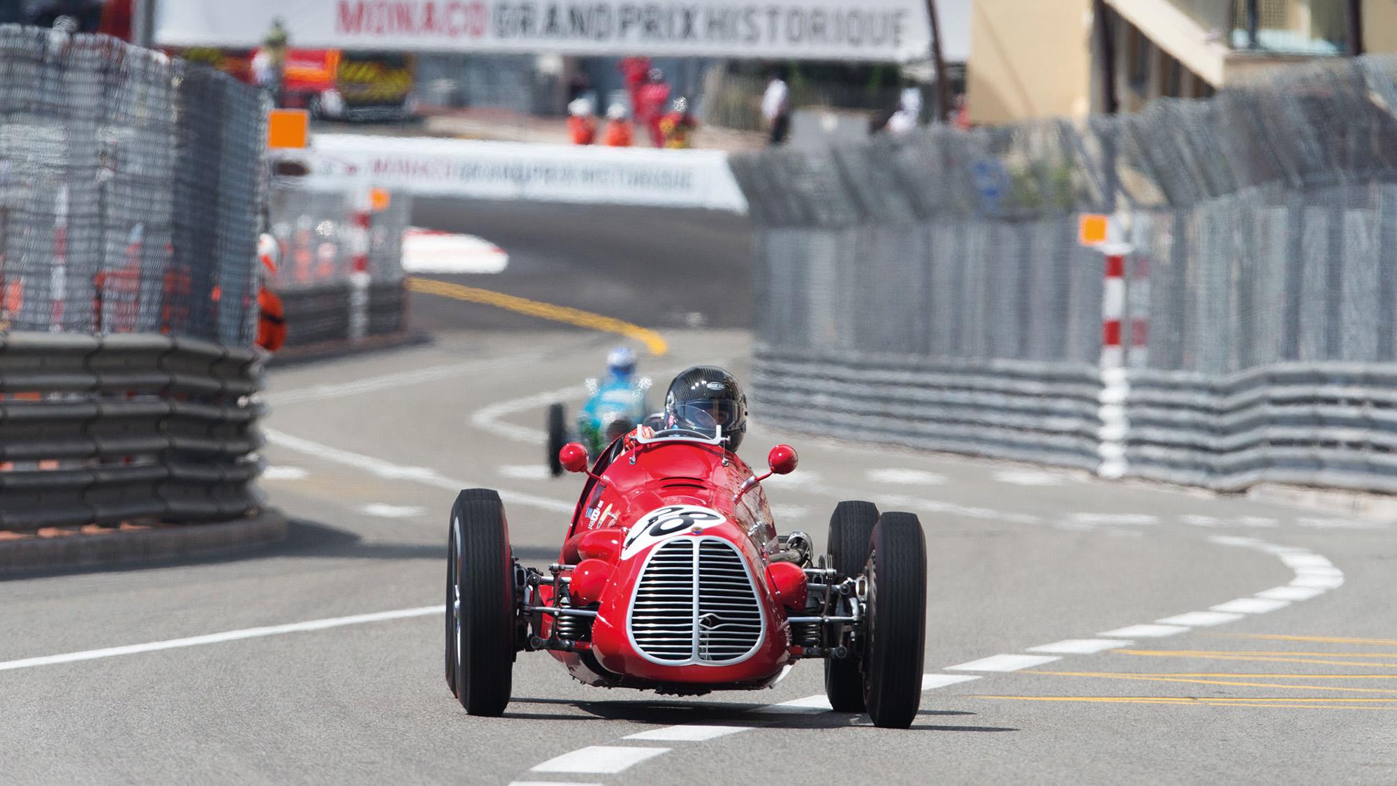 Maserati A6GCM at Monaco Historic Grand Prix