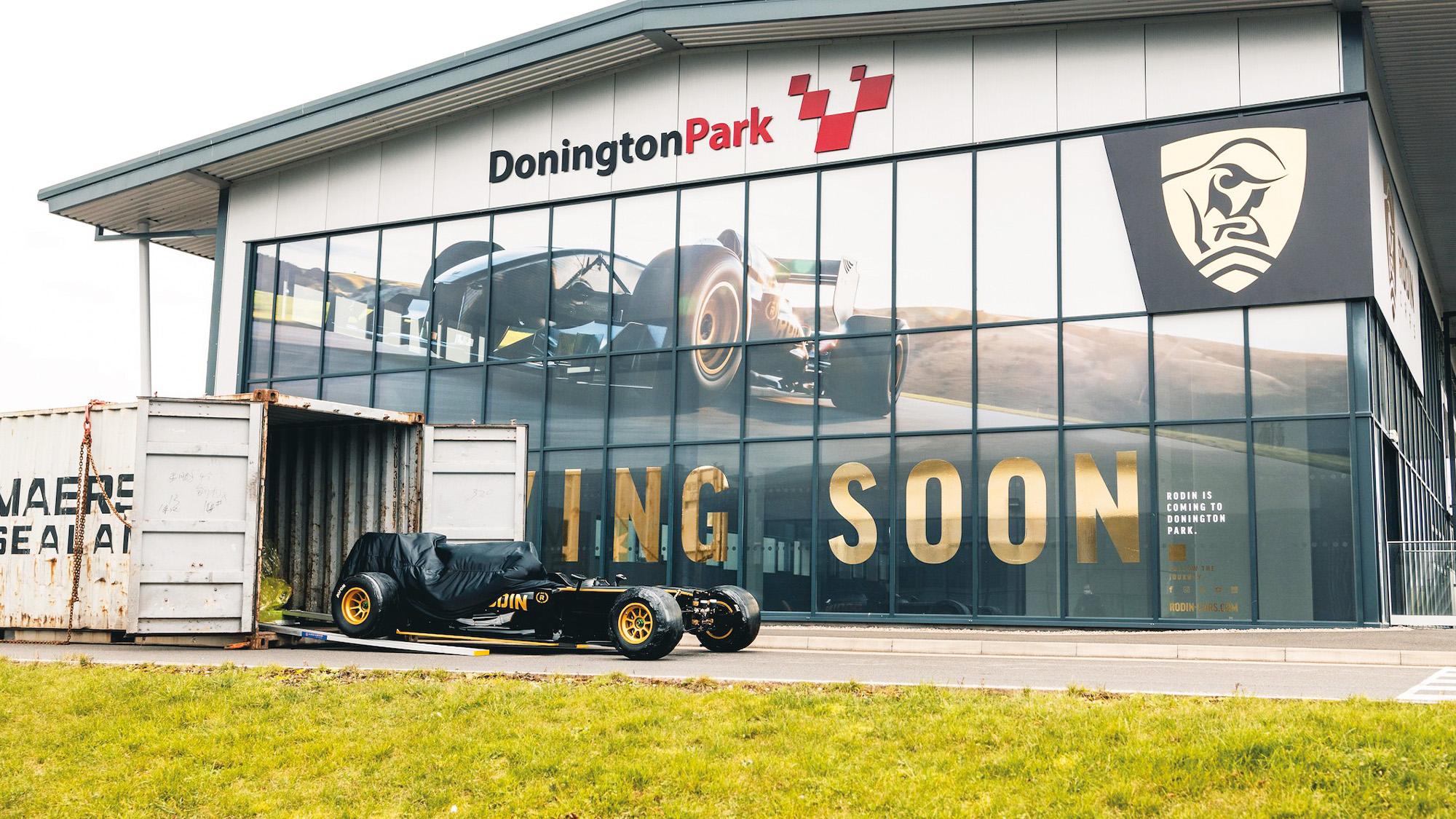 Rodin Cars Donington Park showroom