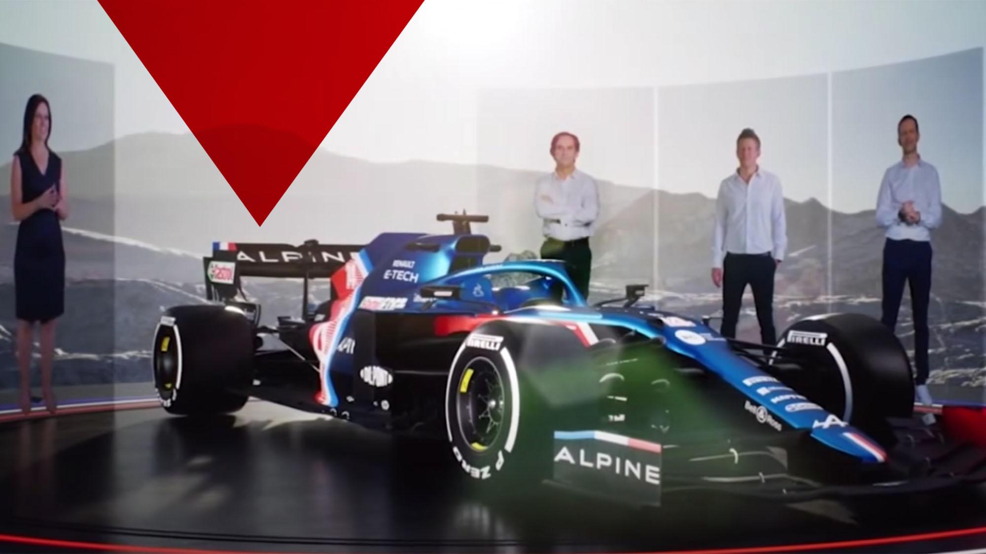 Alpine presentation