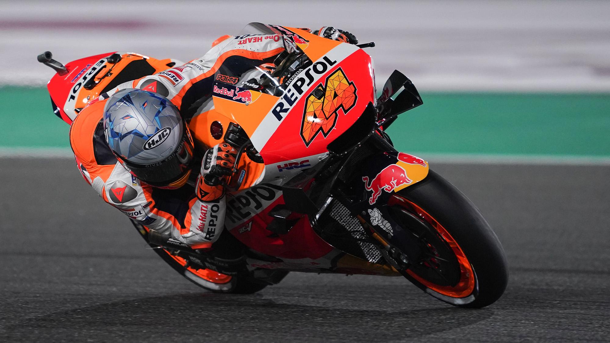 Pol Espargaro in the 2021 MotoGP Qatar GP