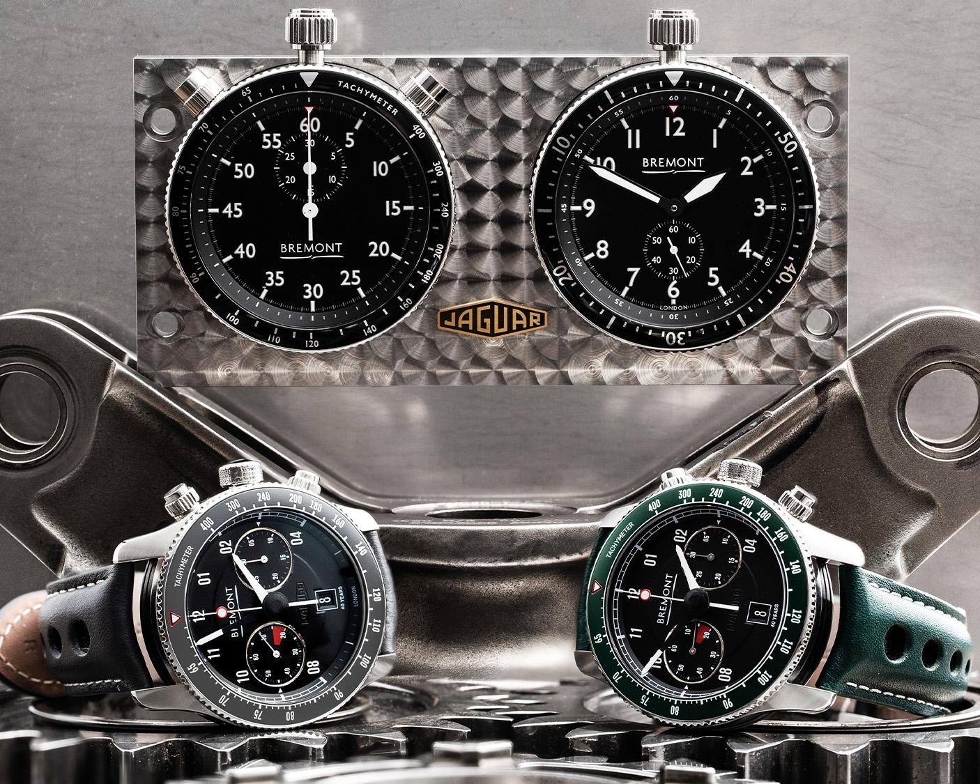 Bremont Jaguar watch