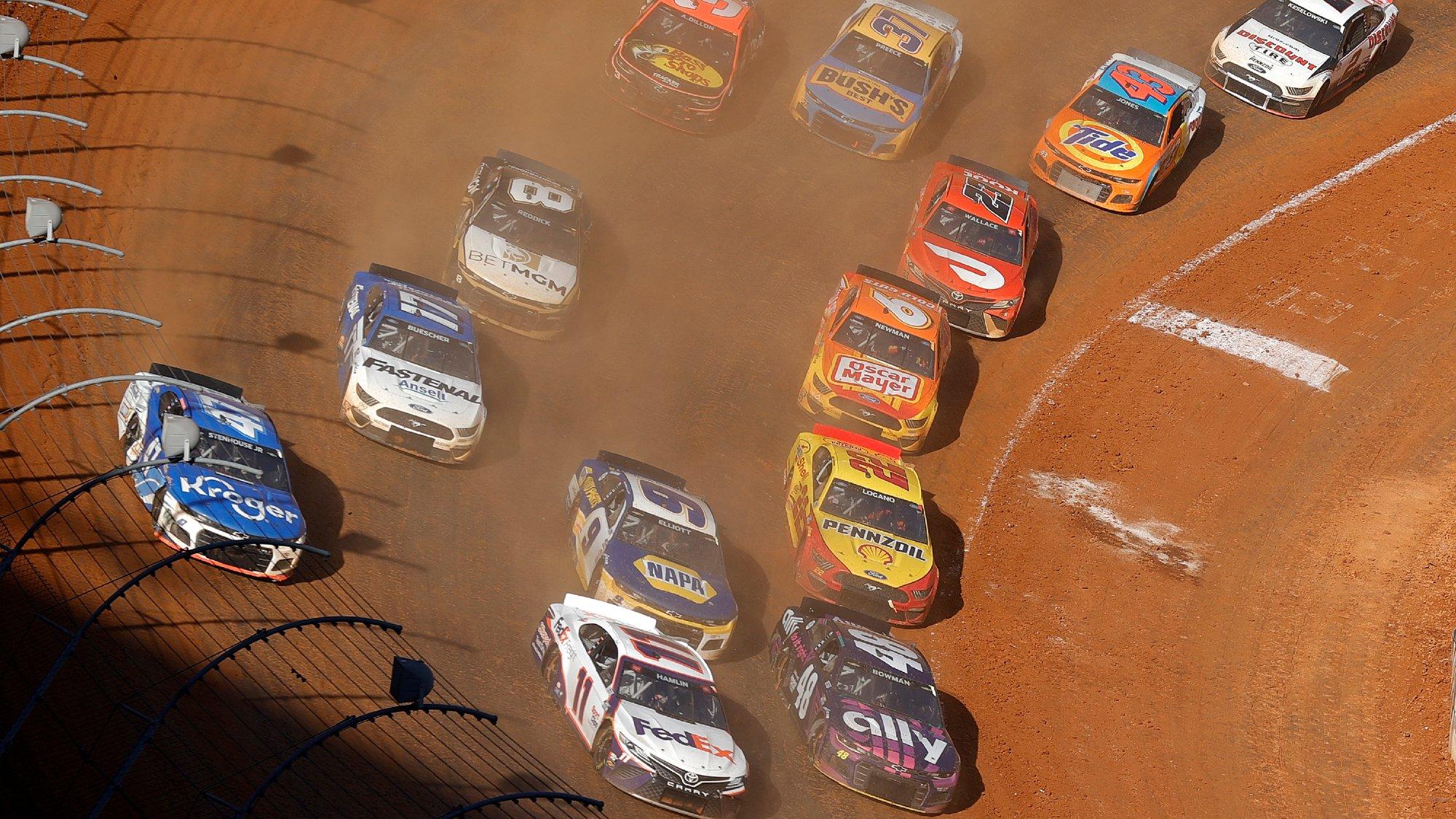 2021 NASCAR Bristol Dirt Race