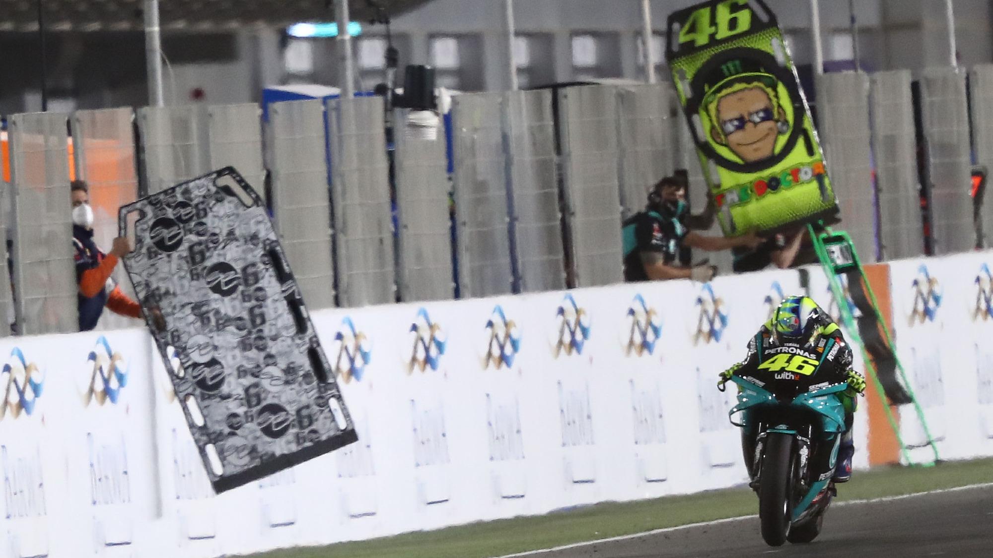 Valentino Rossi, 2021 Qatar MotoGP