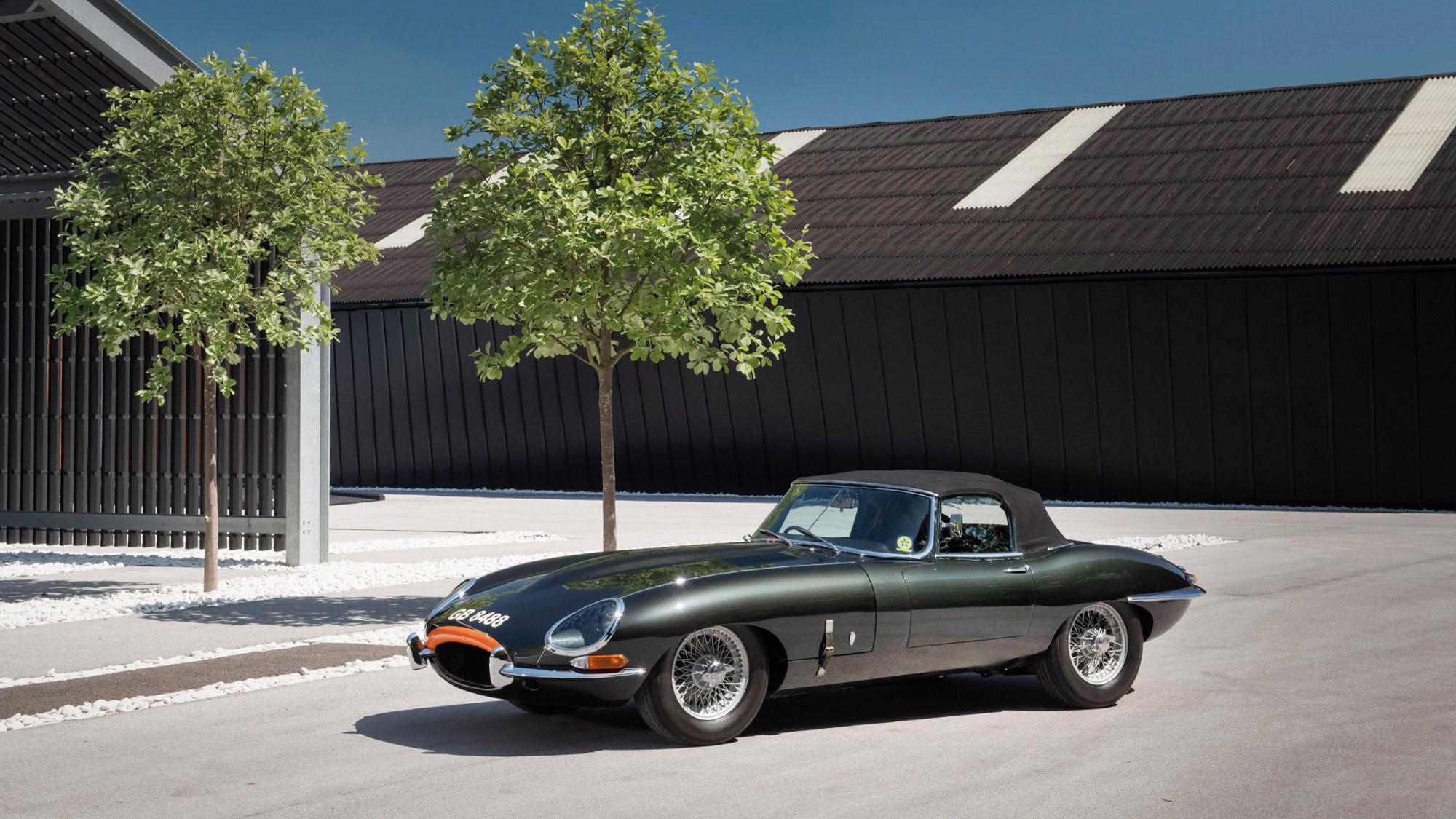 1961 Jaguar ZP Project E-type