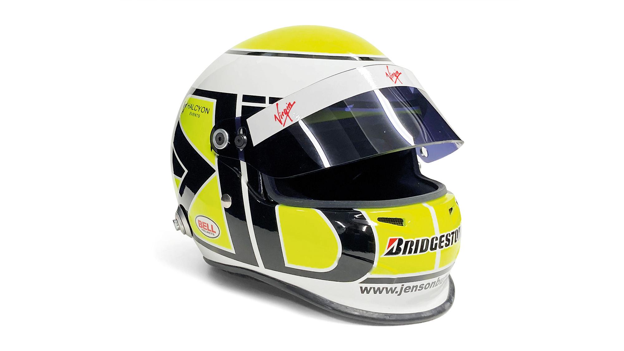 Jenson Button helmet