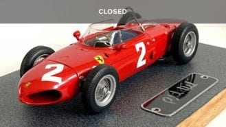 WIN a Phil Hill signed Ferrari 156 'Sharknose' 1:18 scale model