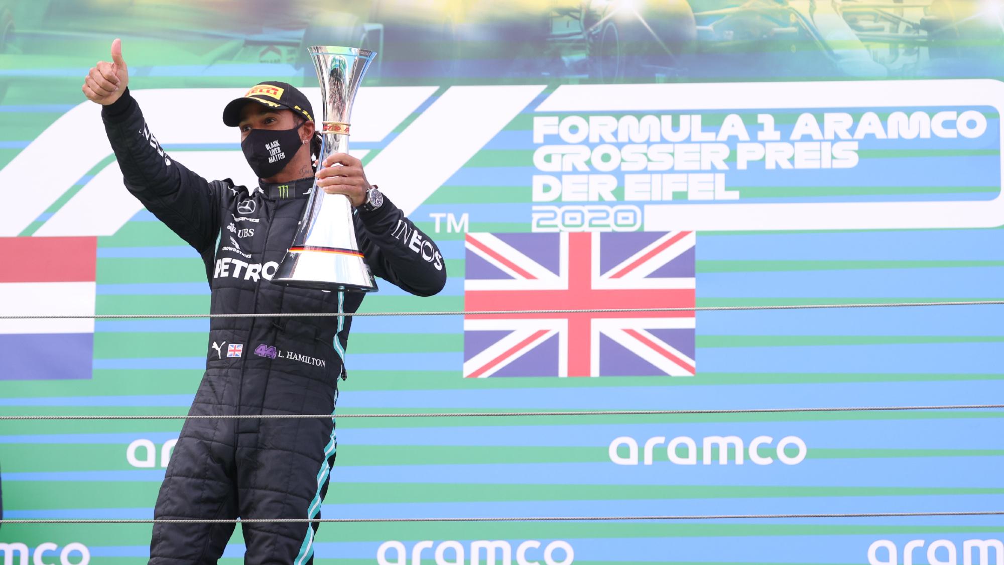 Lewis Hamilton, 2020 Eifel GP