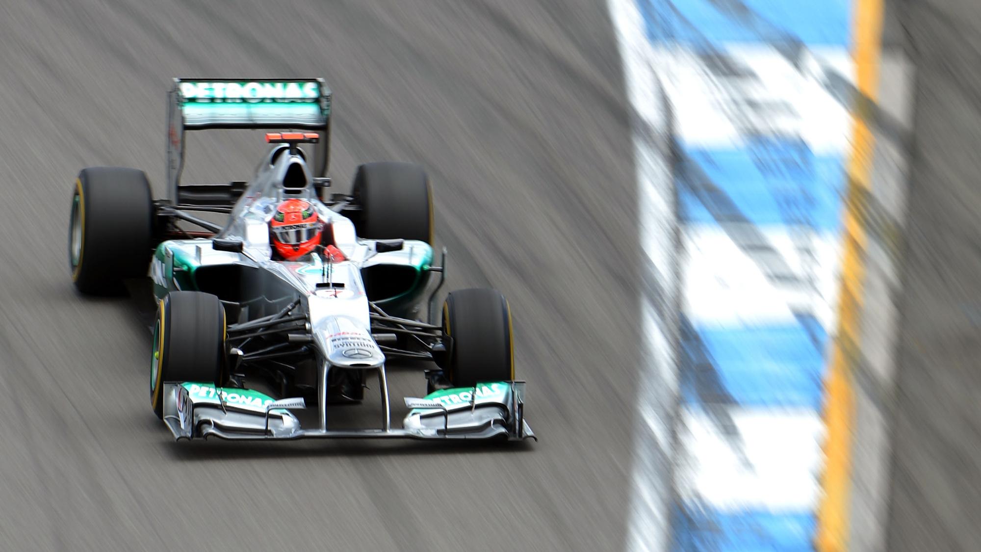 Michael Schumacher, 2012 German GP