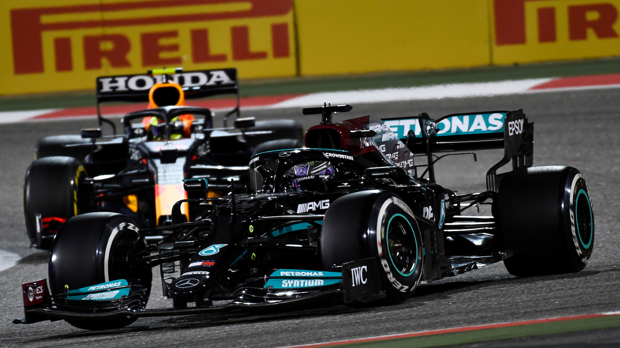Lewis Hamilton, 2021 Bahrain GP