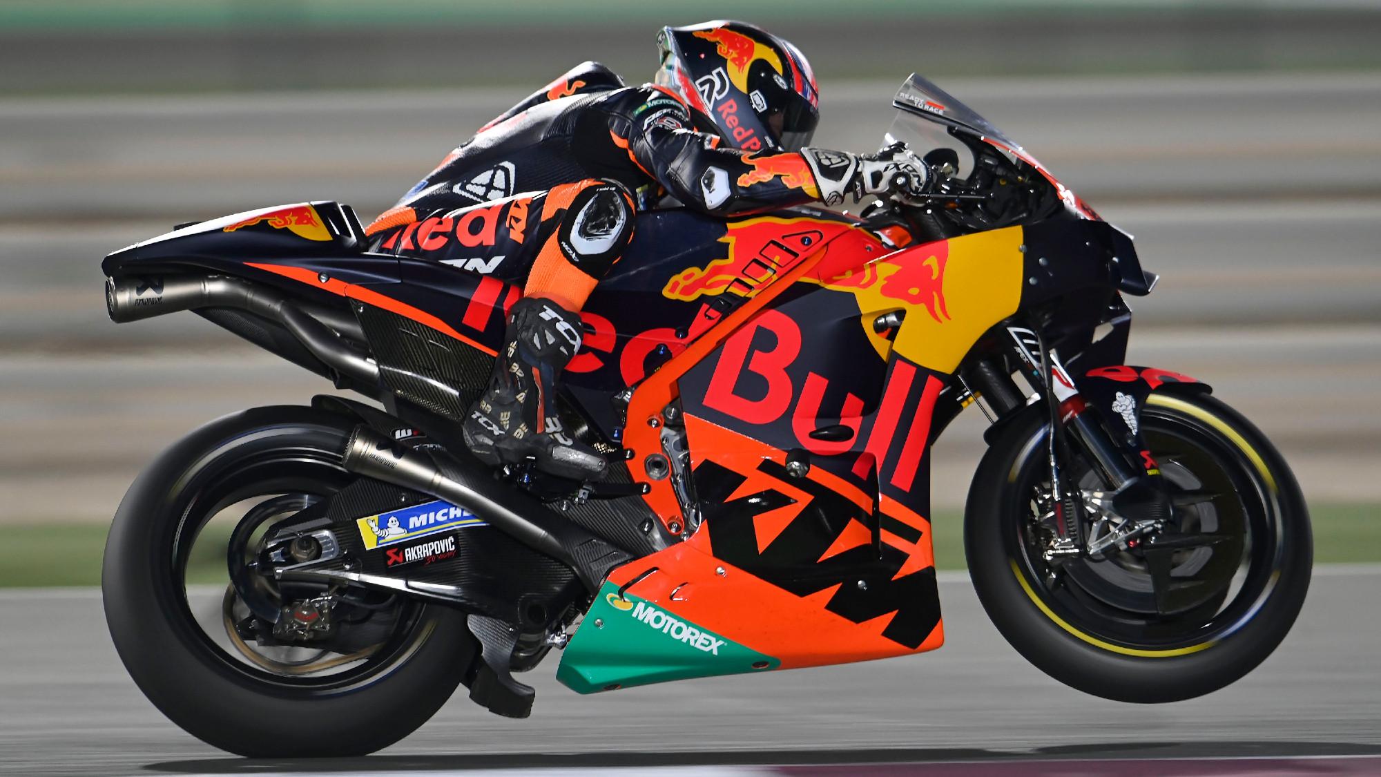 Brad Binder, 2021 Doha GP