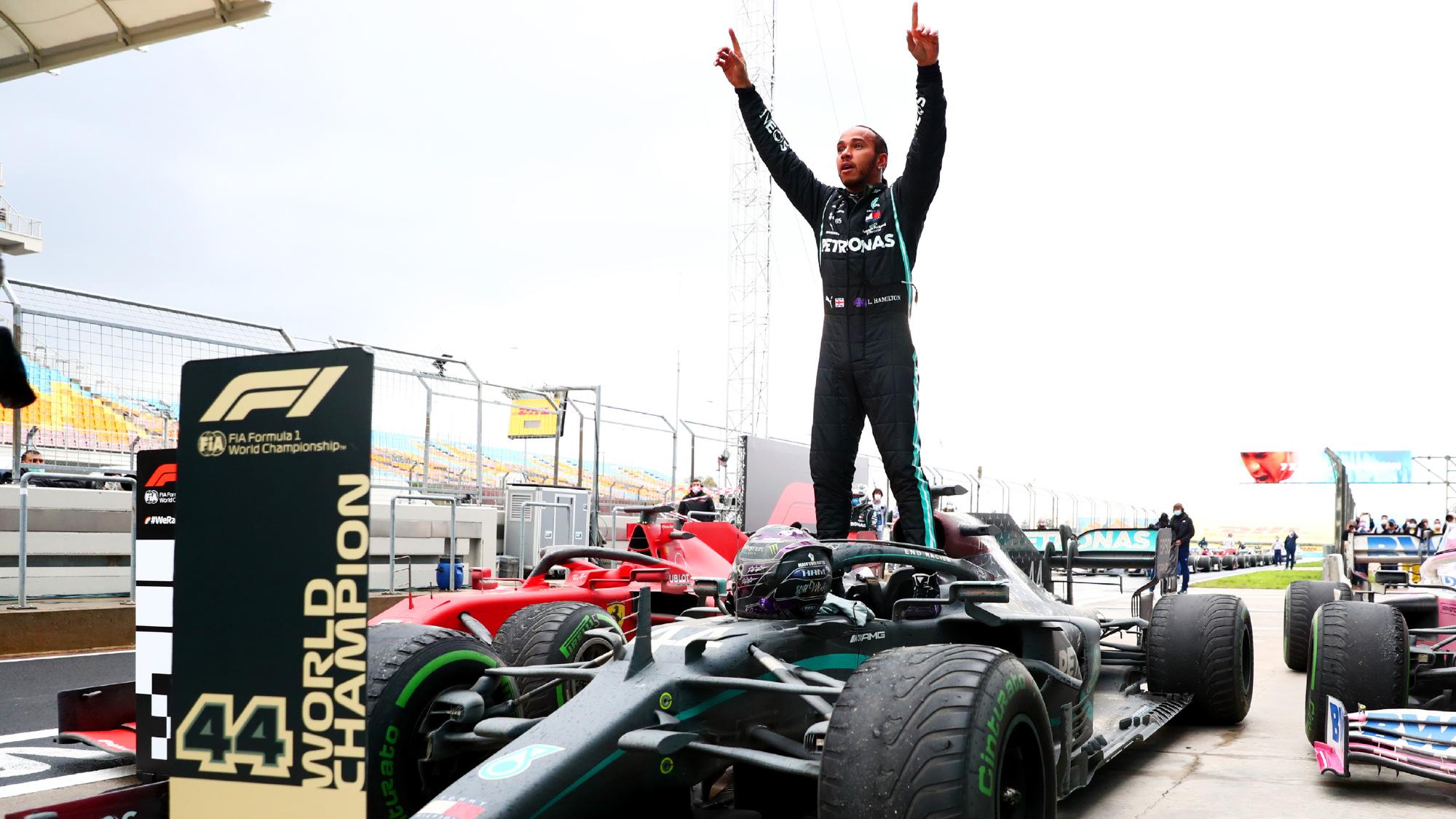 Lewis Hamilton, 2020 Turkish GP