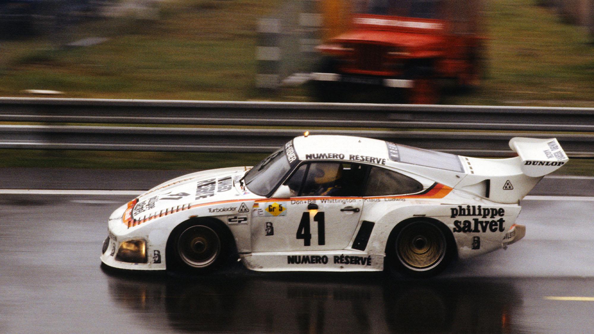 1979 Klaus Ludwig Whittington Le Mans winning Porsche 935