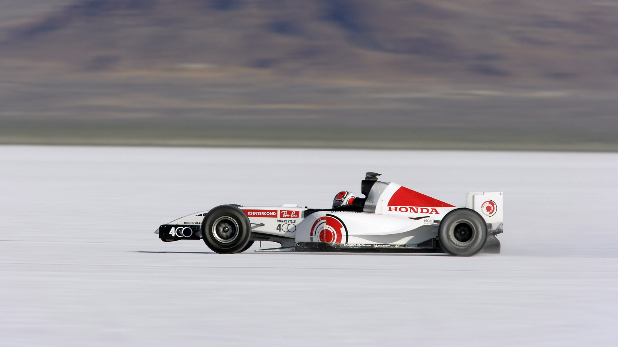 Honda RA106, Bonneville Salt Flats