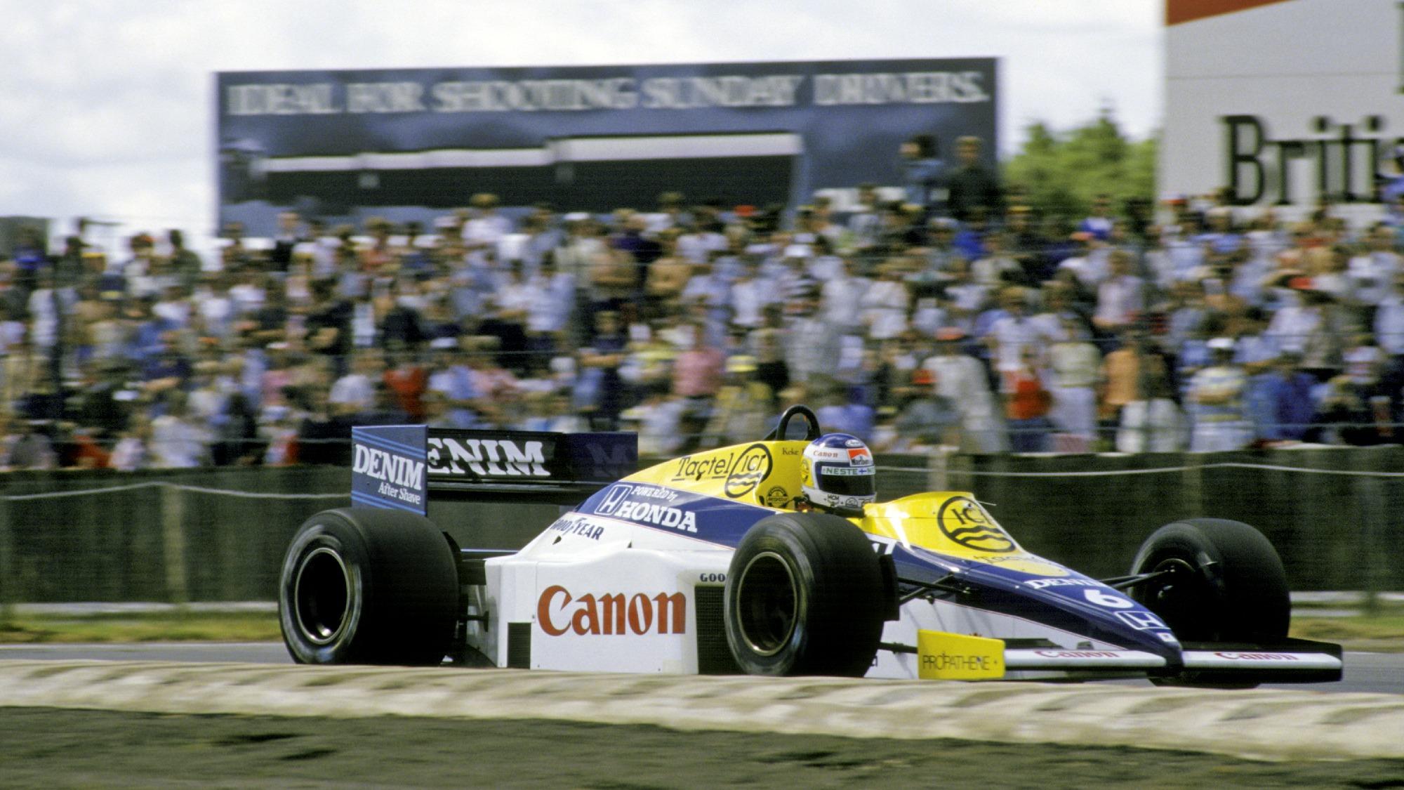 Keke Rosberg, 1984 Silverstone GP
