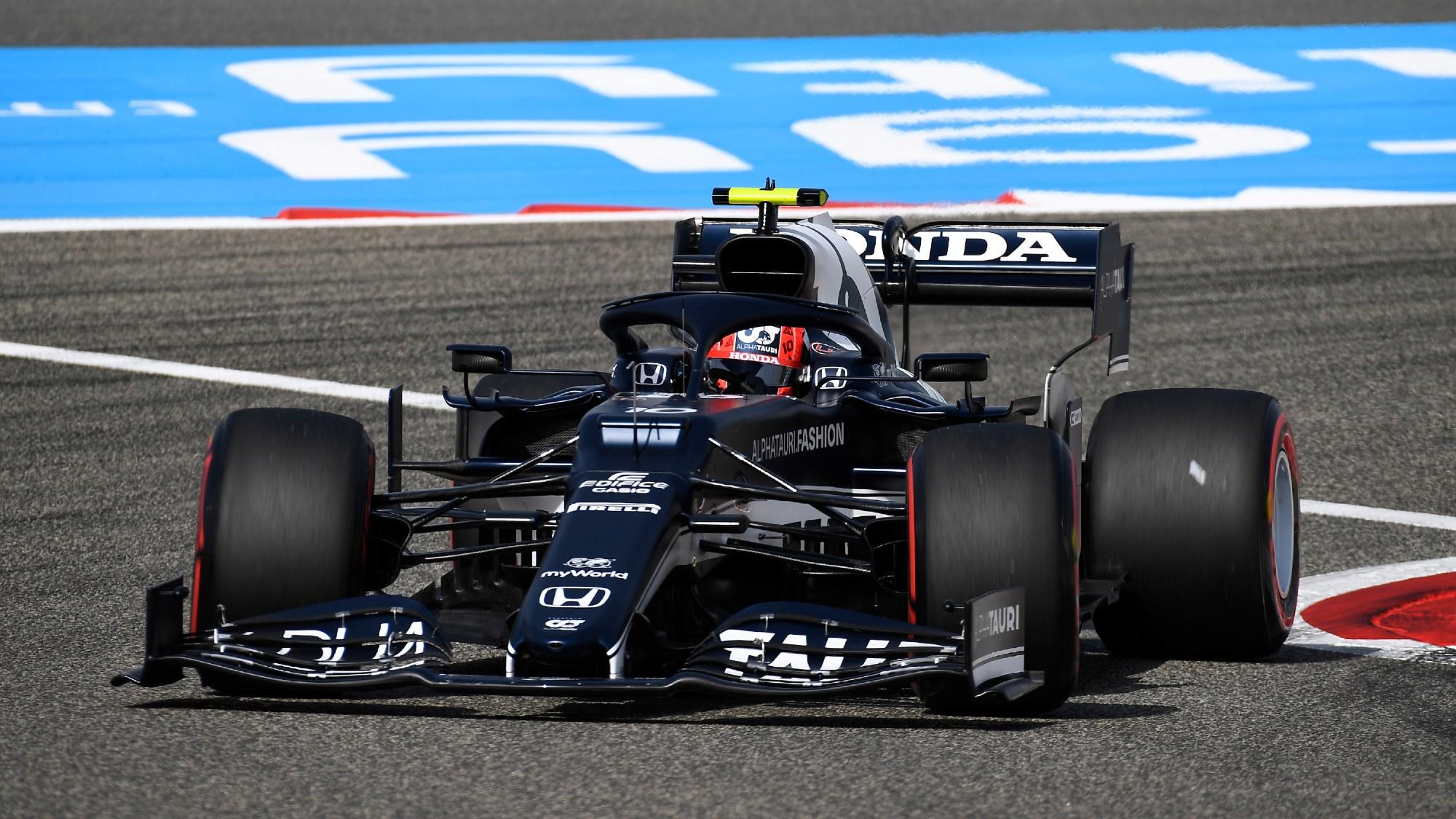Yuki Tsunoda, 2021 Bahrain GP