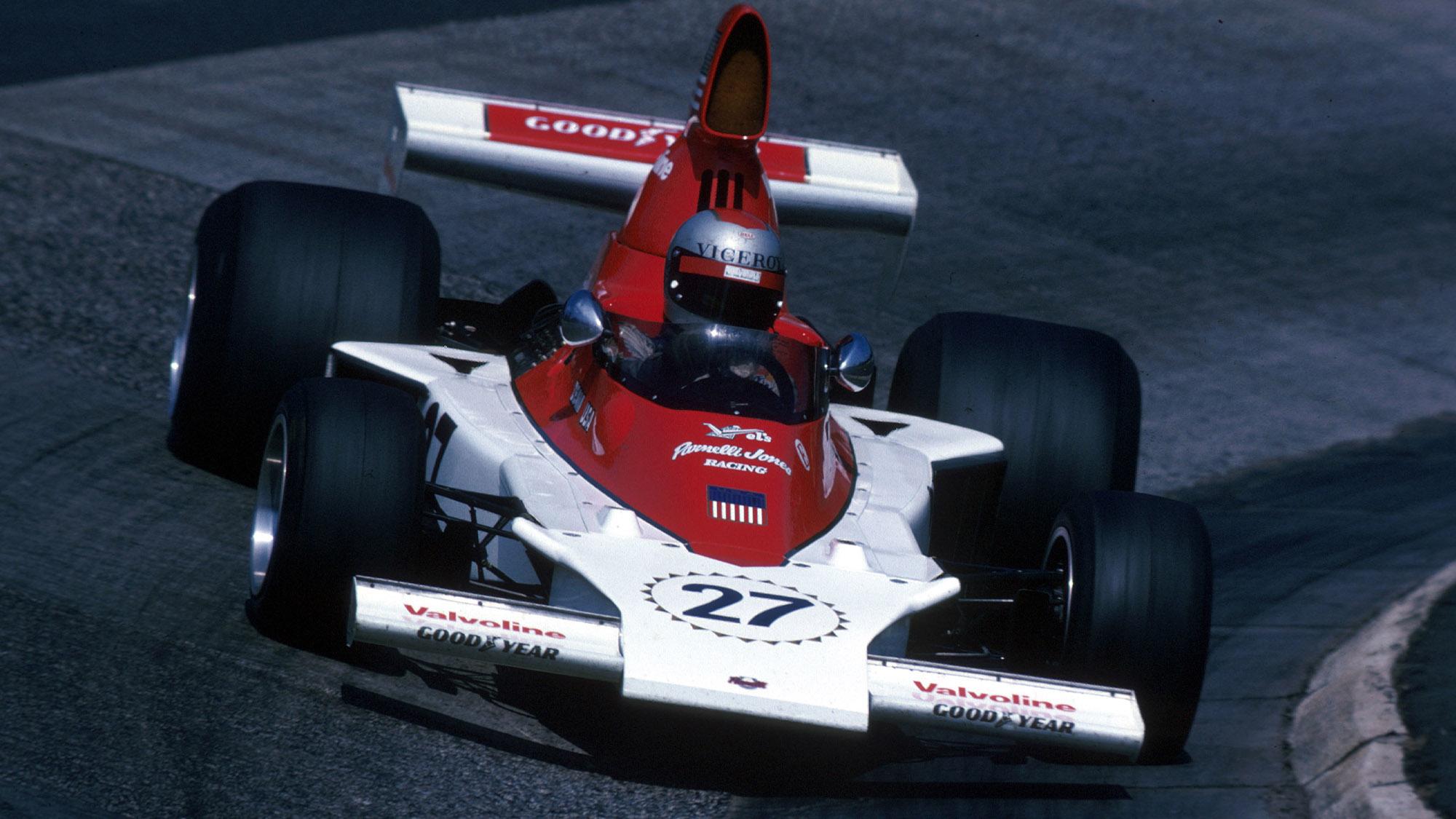 Mario Andretti in the VPJ-4 at the 1976 German Grand Prix