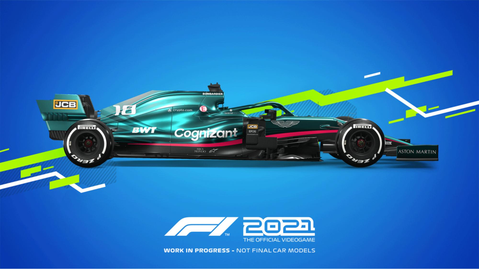 Aston Martin, F1 2021 game