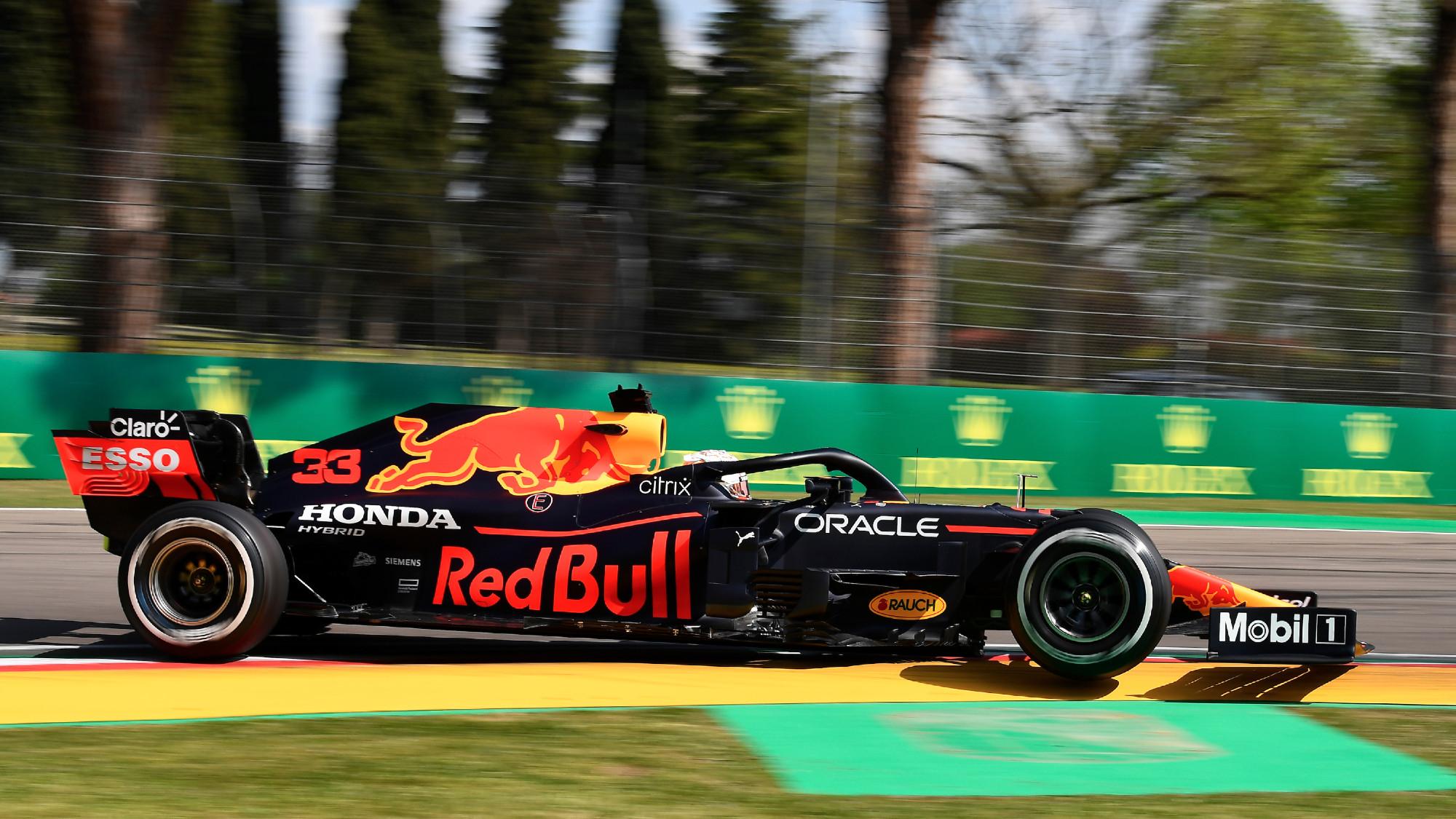 Max Verstappen, 2021 Emilia Romagna GP