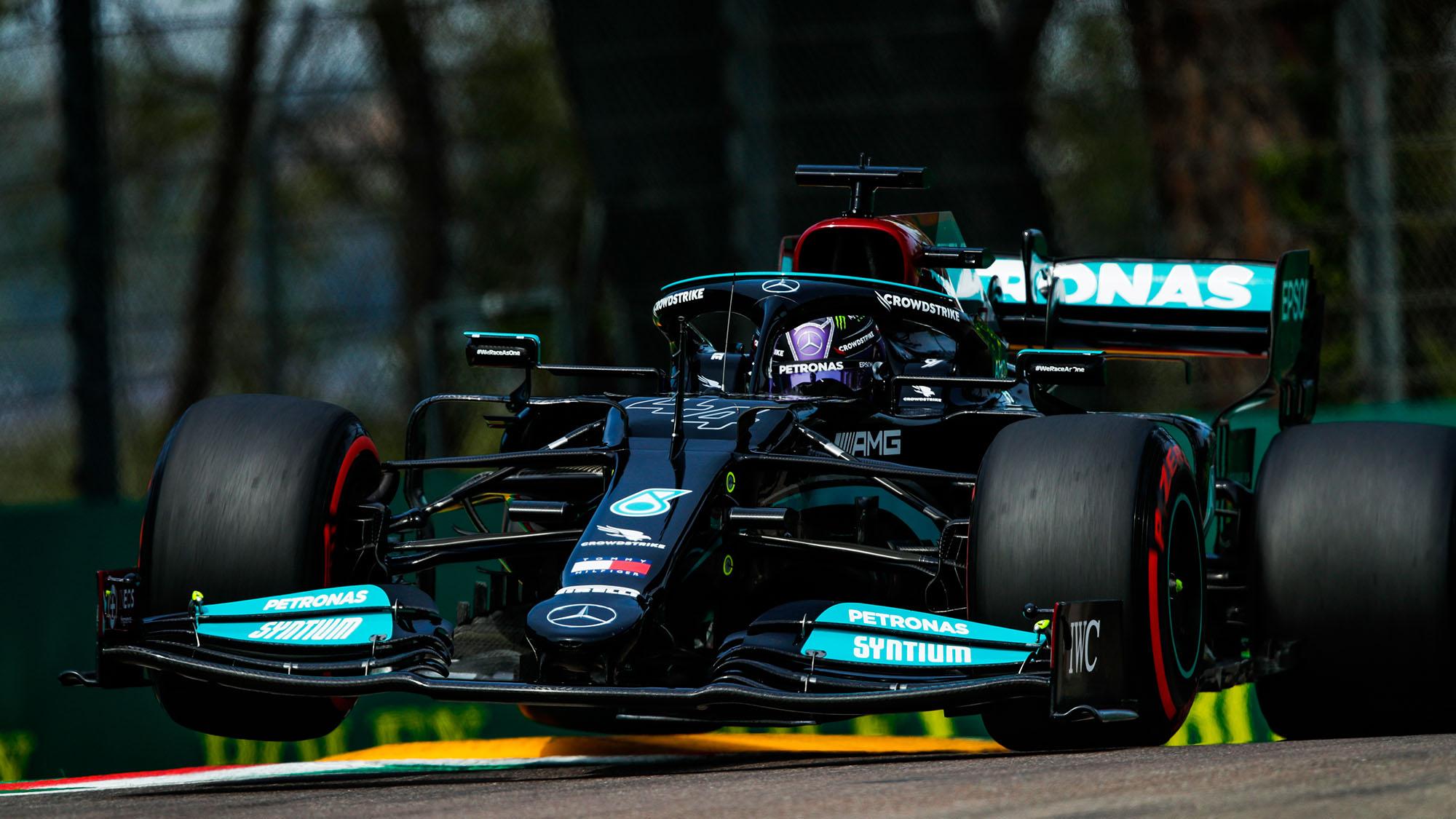 Hamilton lead