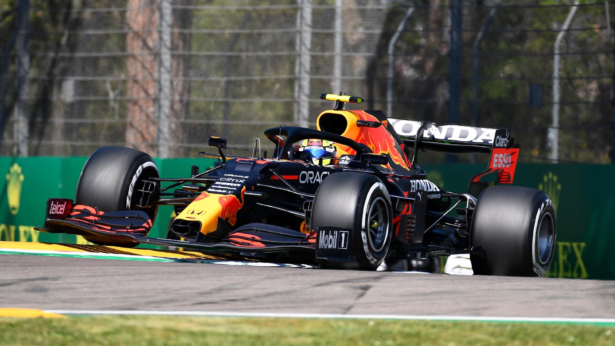 Sergio Perez, 2021 Emilia Romagna GP