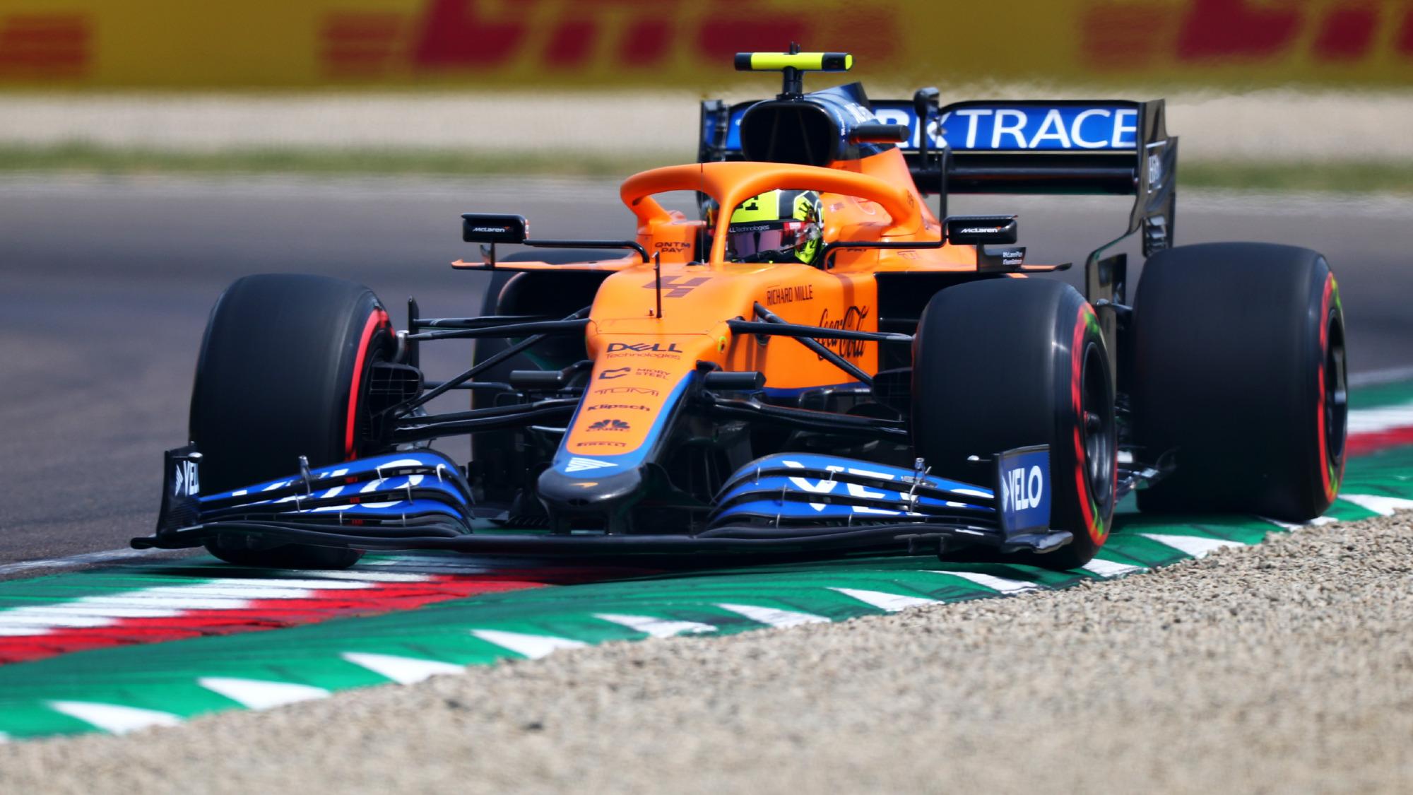 Lando Norris, 2021 Emilia Romagna GP