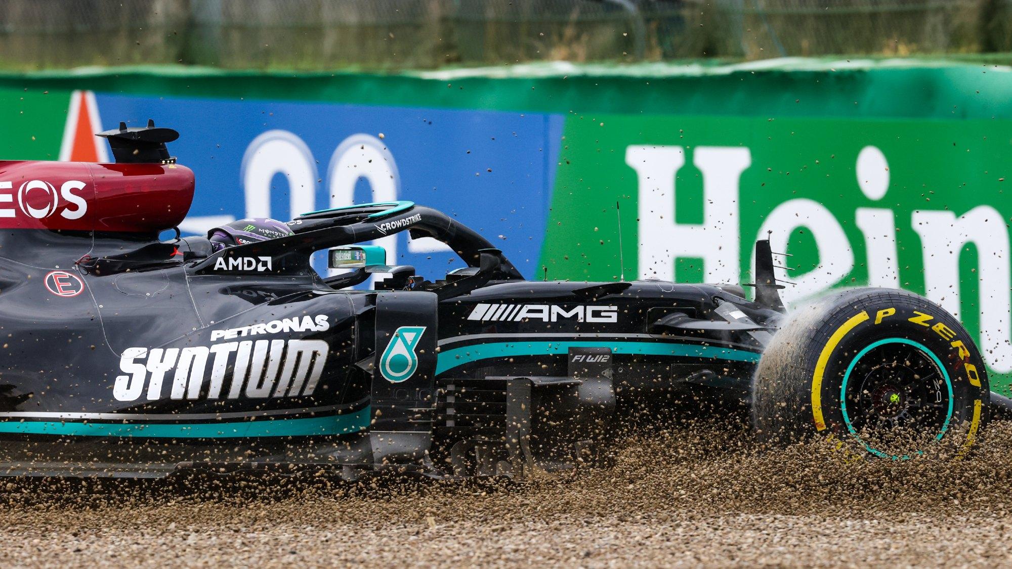 Lewis Hamilton, Imola GP 2021