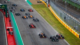 Broken radios and right to reverse: What you missed from the 2021 Emilia Romagna Grand Prix