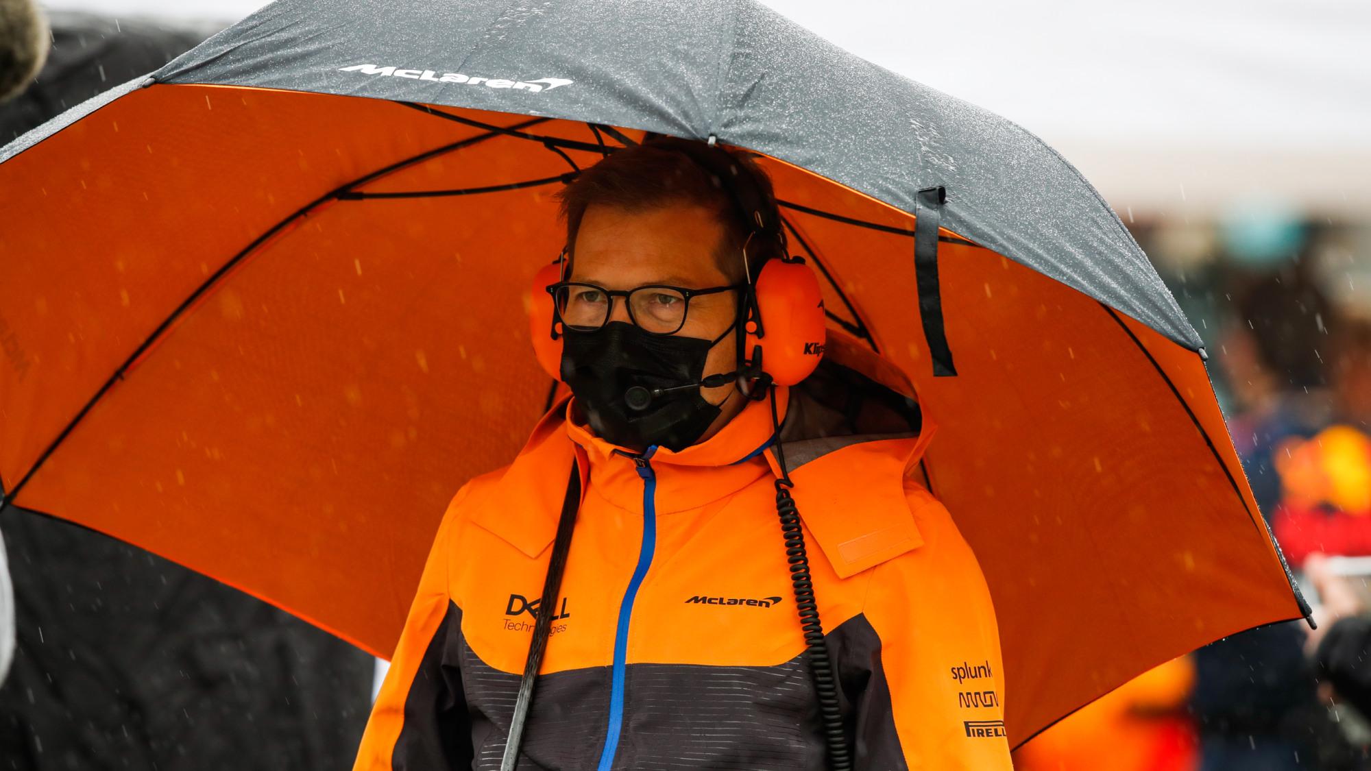 Andreas Seidl, McLaren, 2021 Imola GP