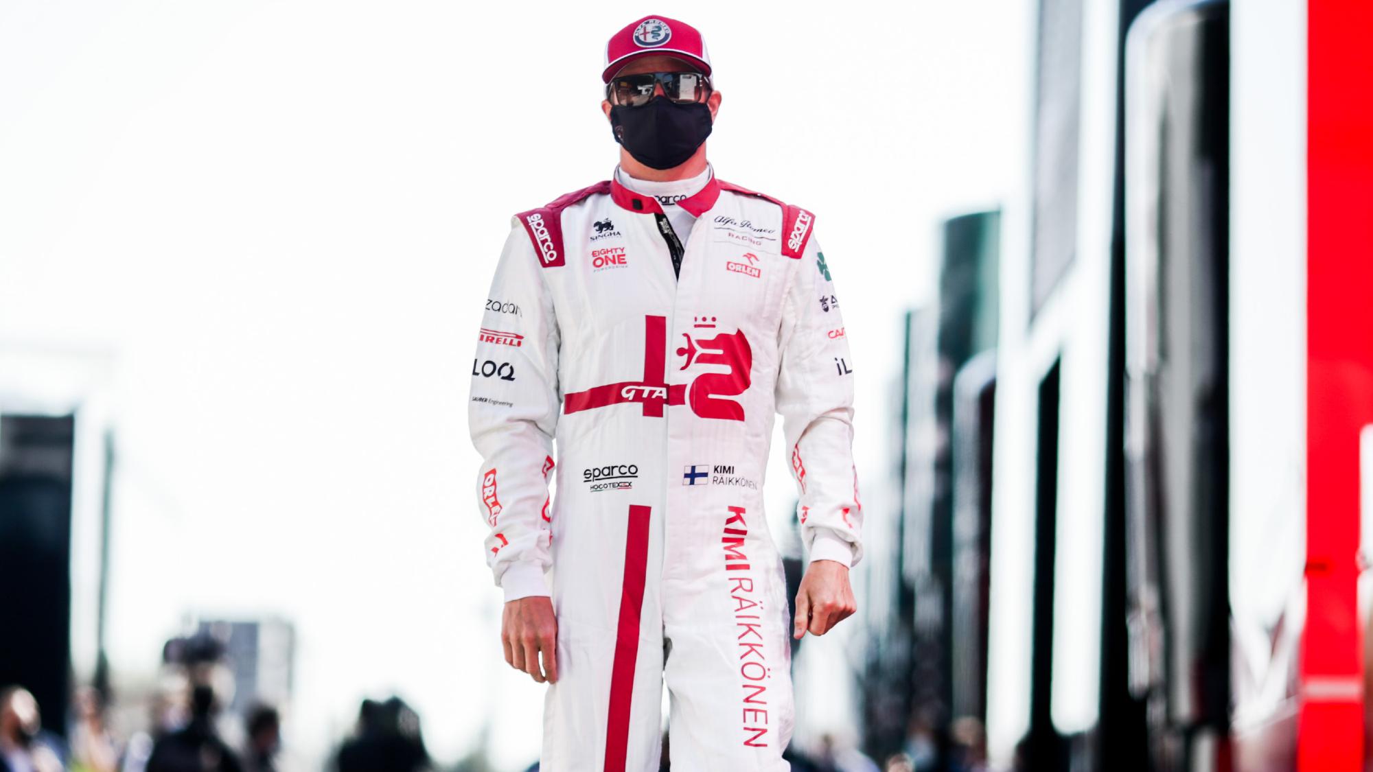 Kimi Raikkonen, 2021 Imola GP
