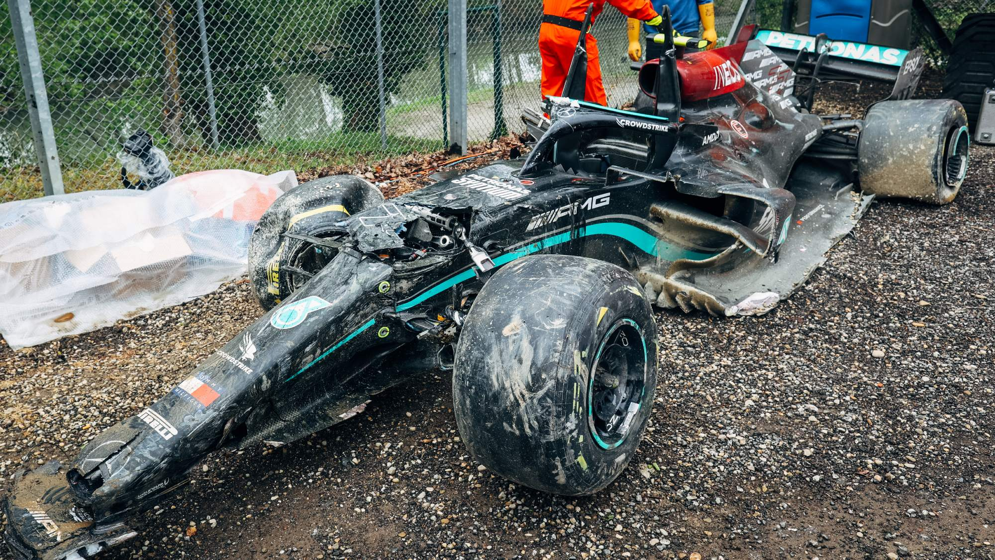Valtteri Bottas, 2021 Imola GP