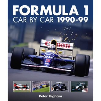Product image for F1 Car by Car: 1990-99 | Peter Higham | Book | Hardback