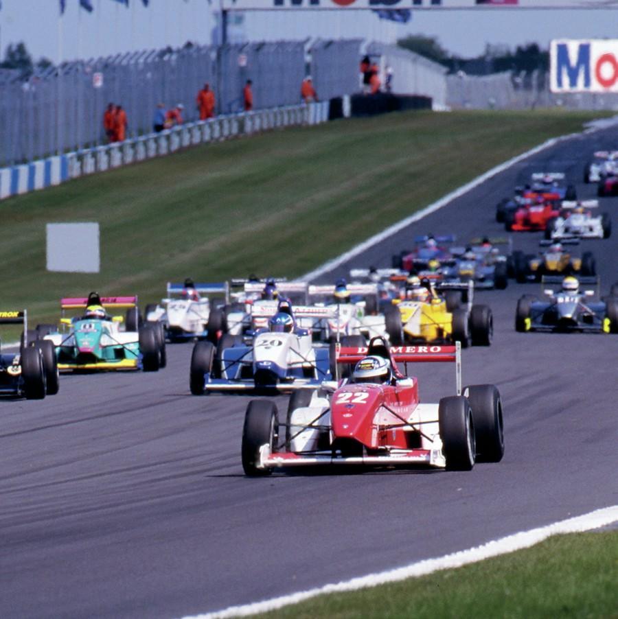Kimi Raikkonen in Formula Renault