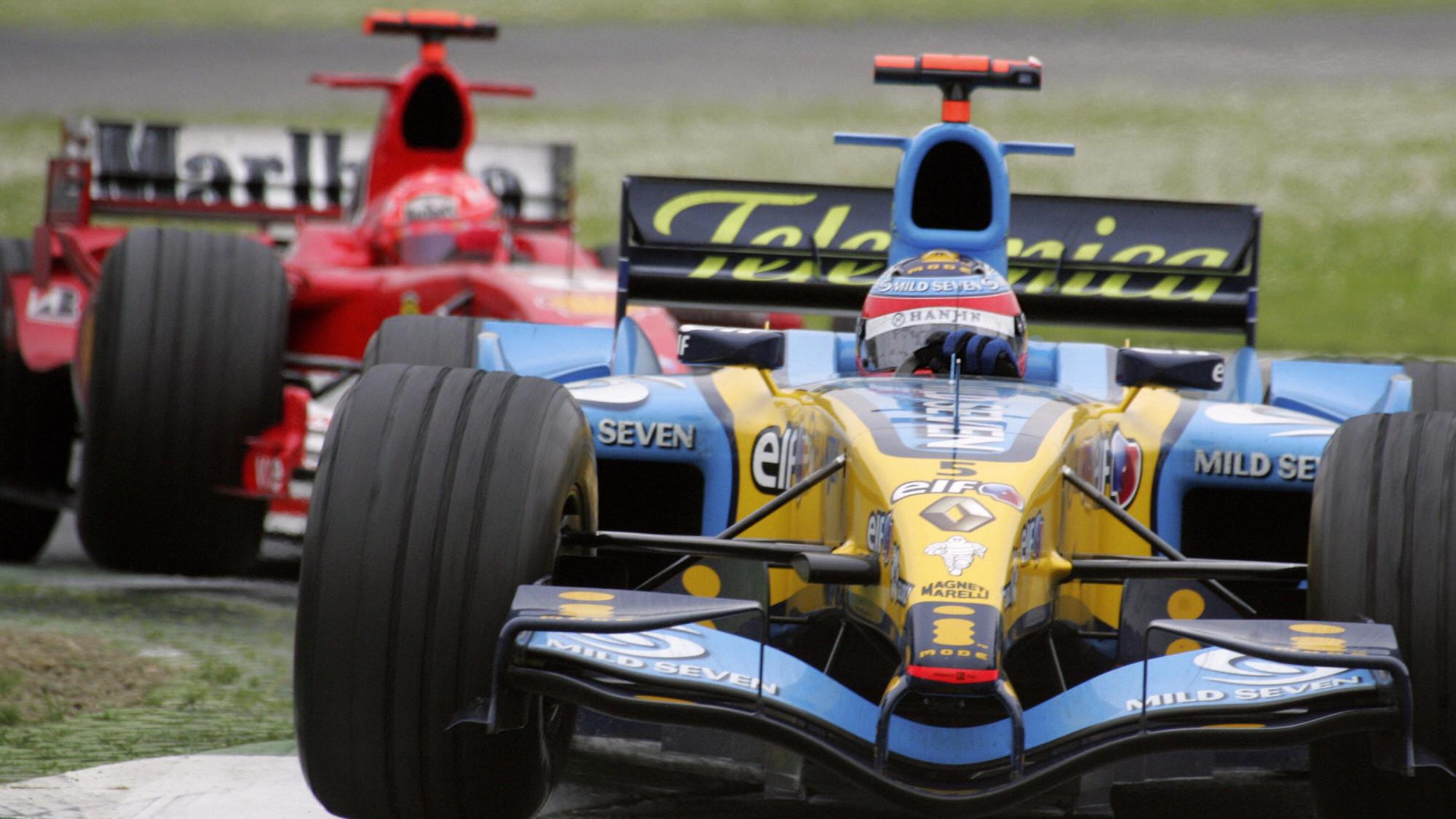 Fernando Alonso, 2005 San Marino GP