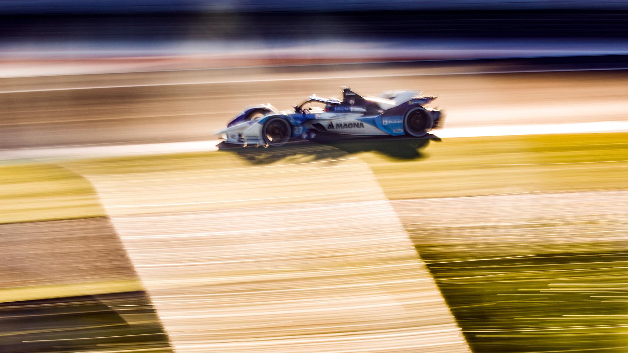 Jake Dennis BMW i Andretti Formula E Valencia test