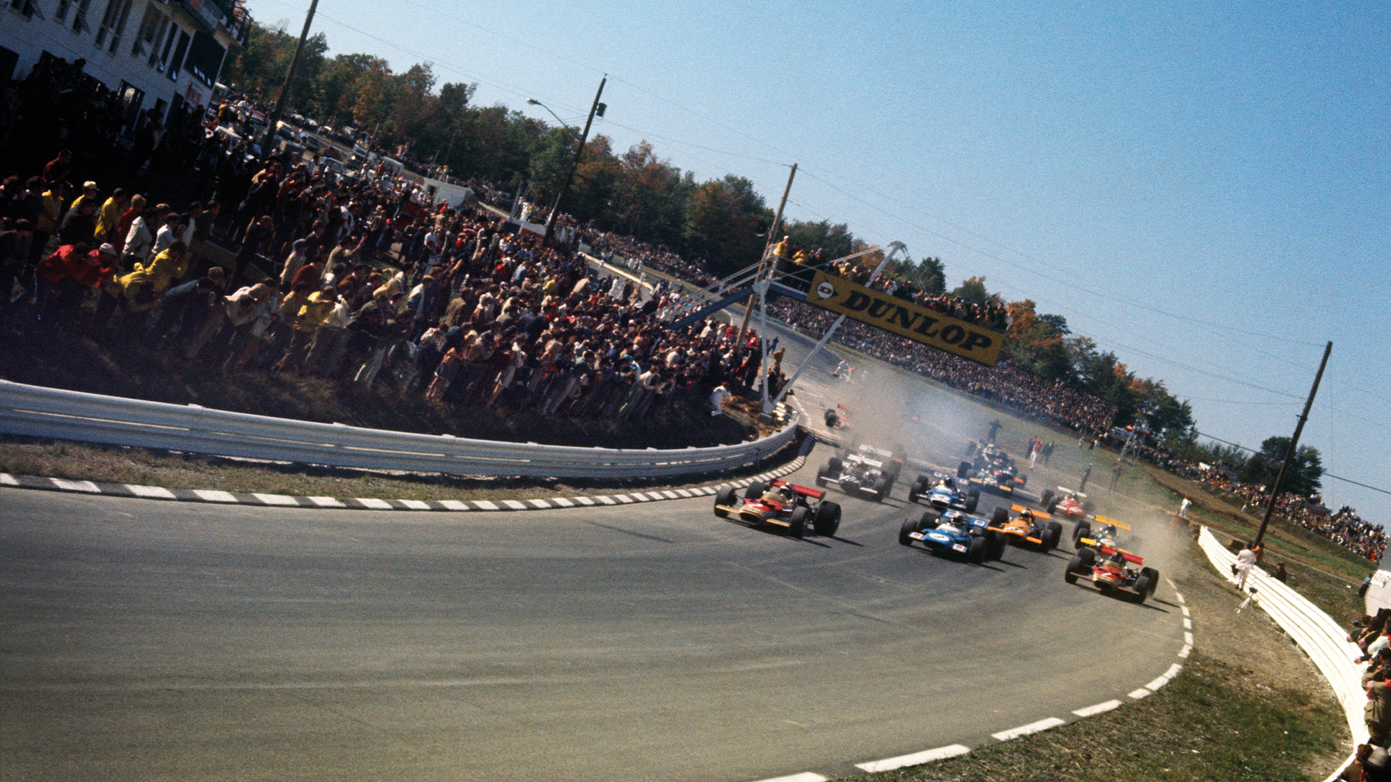 Start of the 1969 Watkins Glen Grand Prix