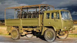 1994 Leyland DAF troop carrier