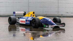 Williams FW14 display car
