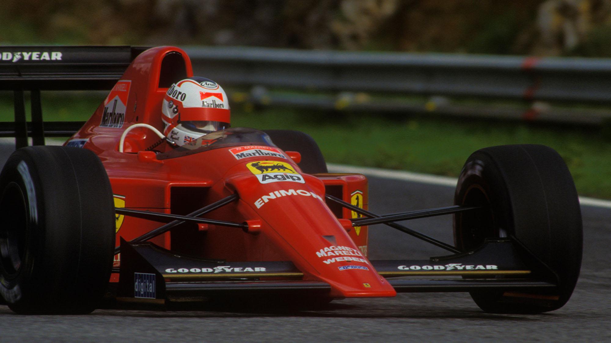 Mansell 1989 Estoril