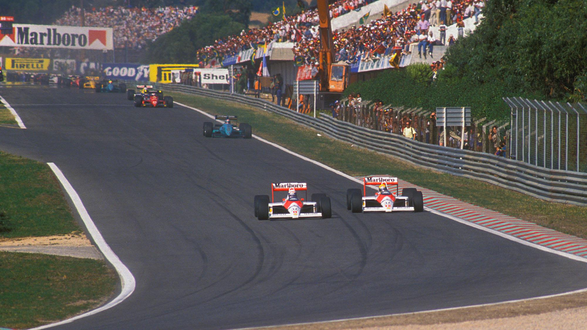 Prost Senna Estoril