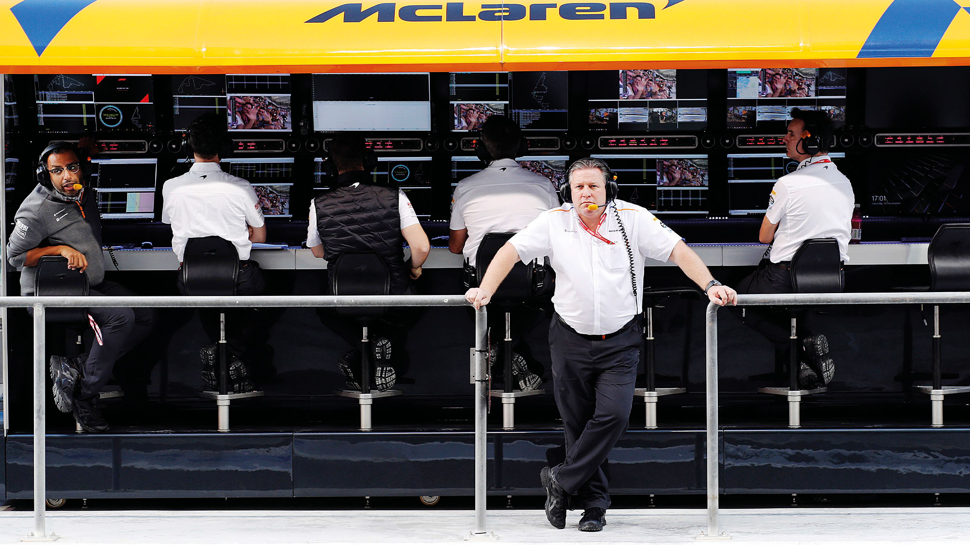 Zak Brown McLaren