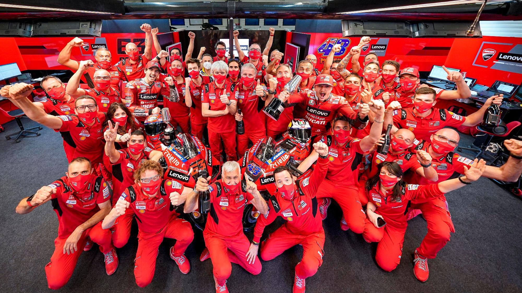 Ducati Corsa, MotoGP 2021 Spanish GP