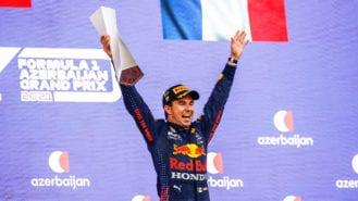 'Pretty crazy' win for Perez as title contenders fall: 2021 Azerbaijan GP report