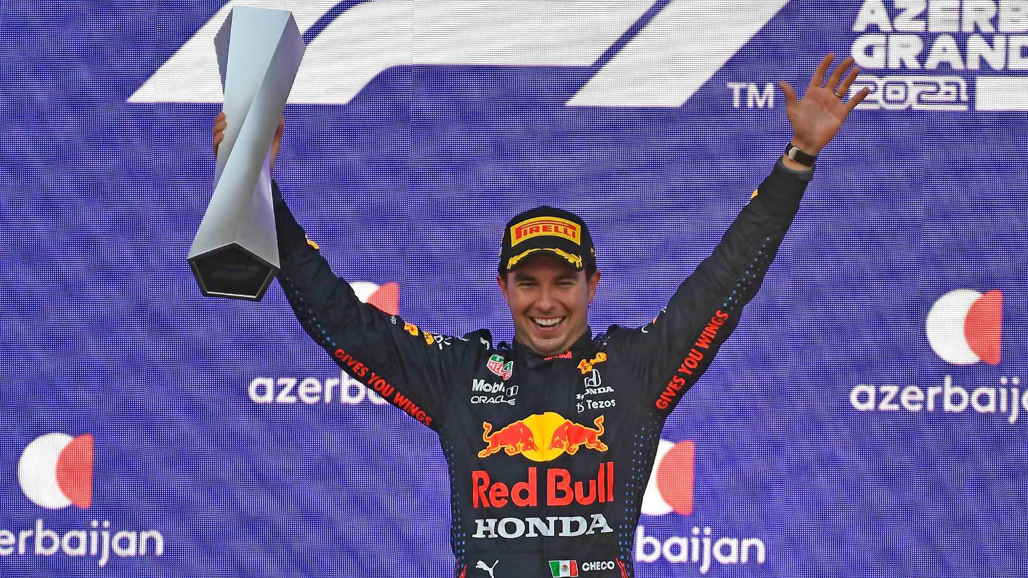 Sergio Perez, 2021 Baku