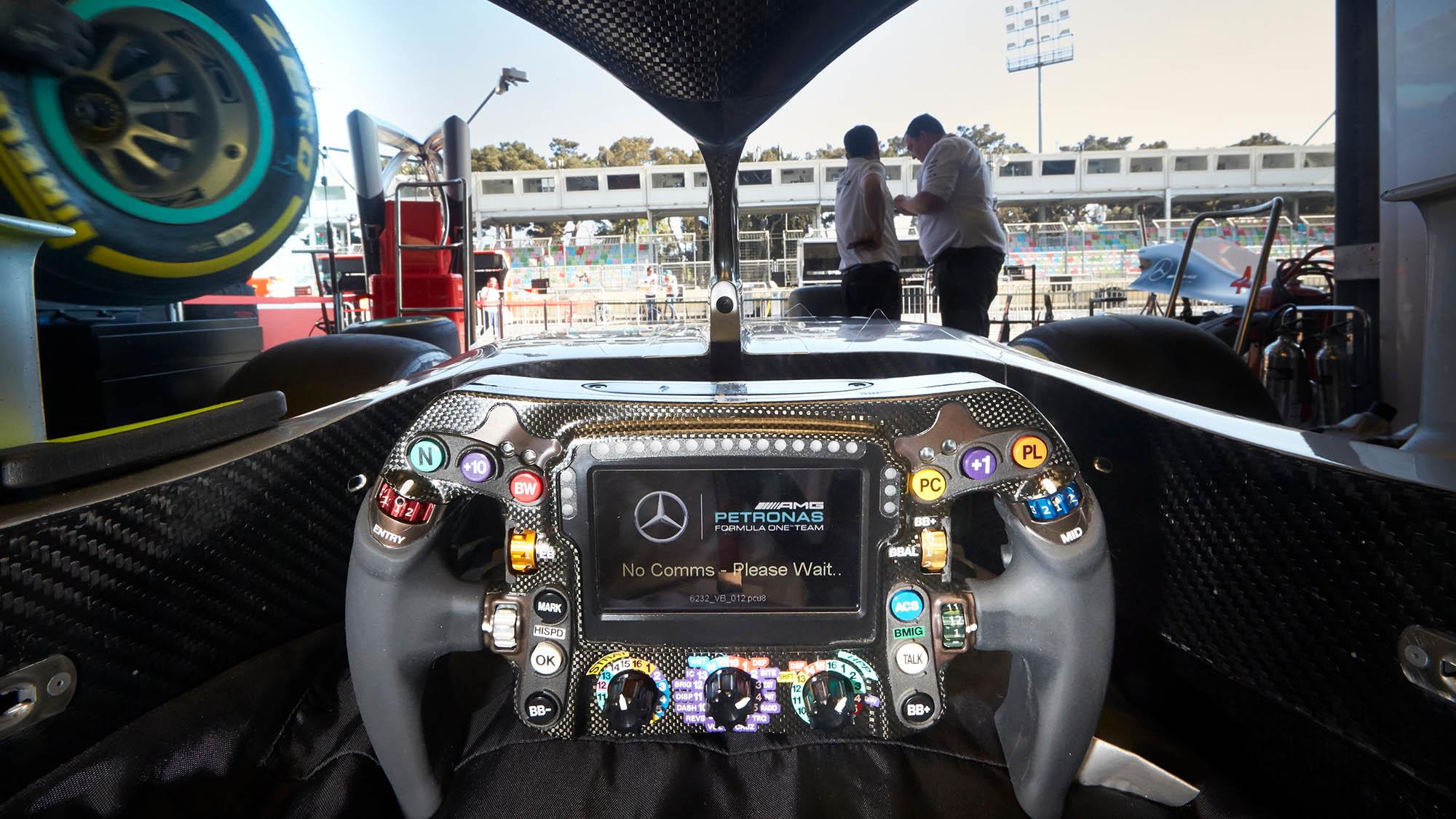 Volante de F1 Mercedes