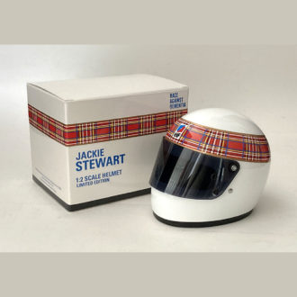 Product image for Jackie Stewart | 1/2 scale | Full-face helmet