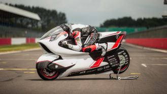 Ex-F1 engineer targets electric land speed record with 250mph concept bike