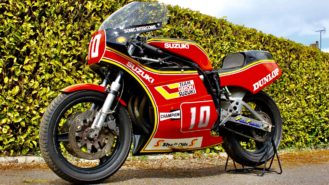 Suzuki XR69 belonging to seven-time TT winner Mick Grant up for auction