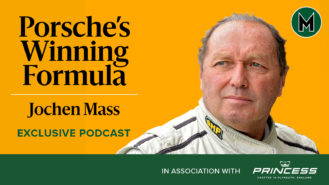 Podcast: Jochen Mass, Porsche's winning formula
