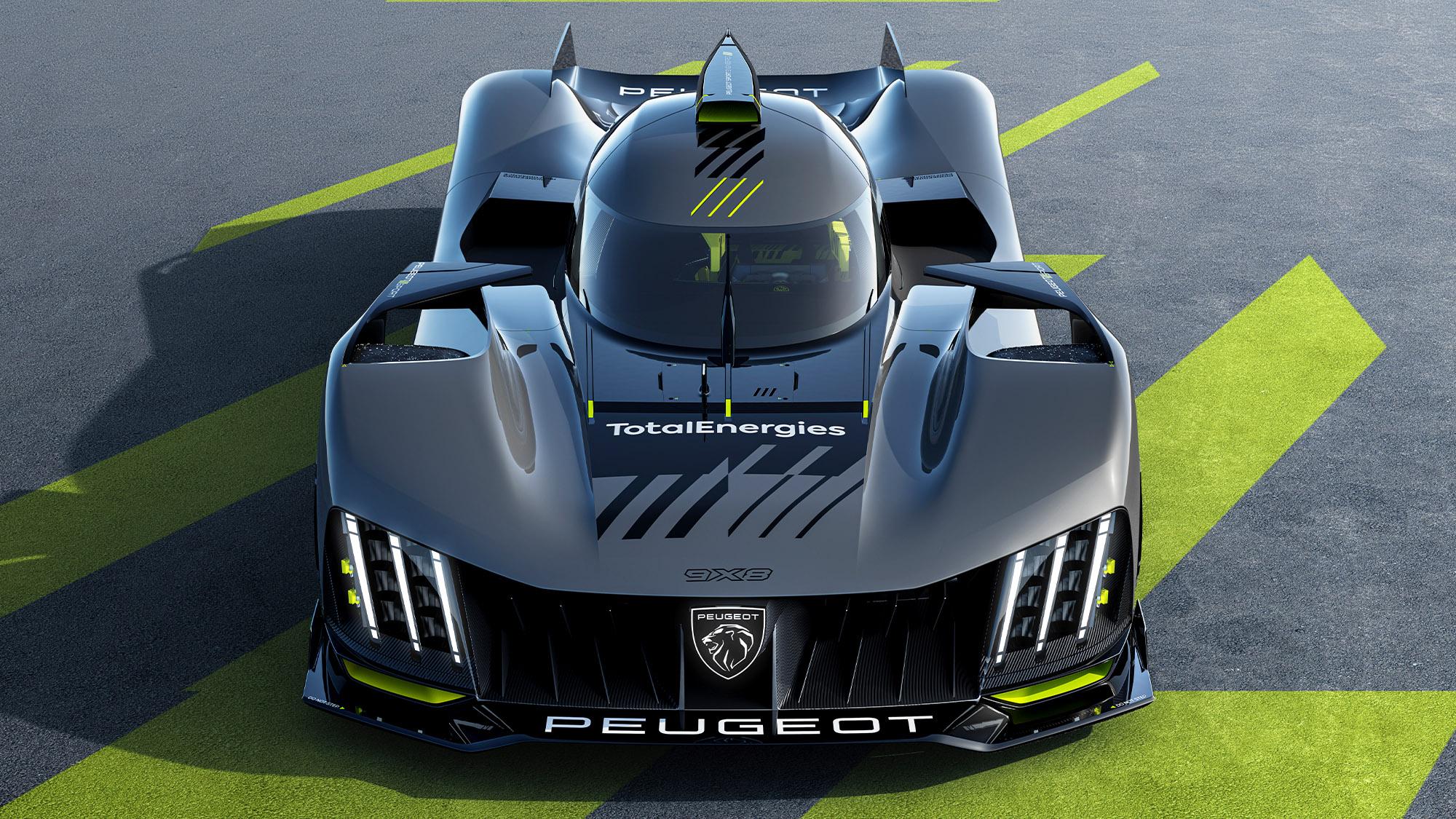 Peugeot hypercar front