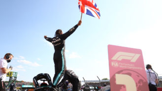 Hamilton fights back for famous win as Verstappen hits out — 2021 British Grand Prix report